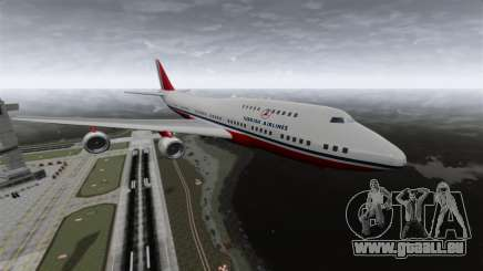 L'avion de Turkish Airlines pour GTA 4