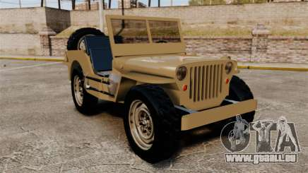 Willys MB pour GTA 4
