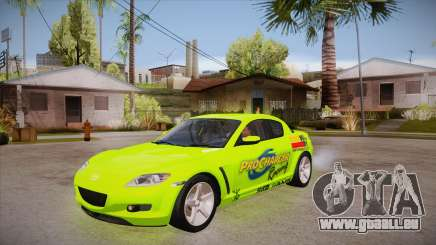 Mazda RX8 Tunnable pour GTA San Andreas