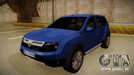 Dacia Duster SUV 4x4 pour GTA San Andreas