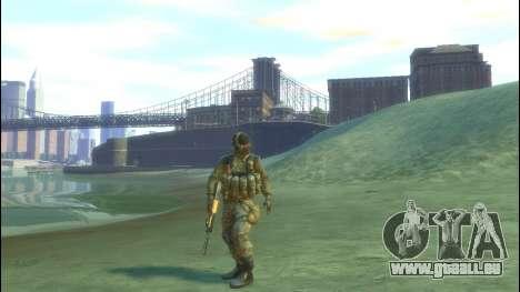Un soldat russe v 2.0 pour GTA 4 secondes d'écran