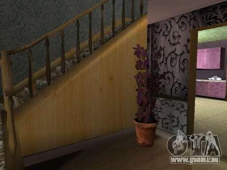 Innen 2-stöckige Neubau CJ für GTA San Andreas siebten Screenshot