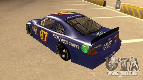 Toyota Camry NASCAR No. 87 AM FM Energy pour GTA San Andreas vue arrière