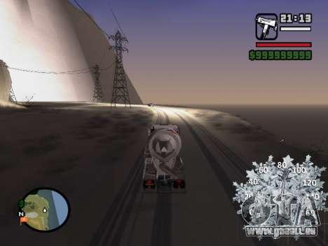 Nouveau compteur de vitesse pour GTA San Andreas troisième écran