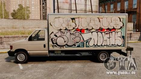 Nouveau graffiti pour Steed pour GTA 4 est un droit
