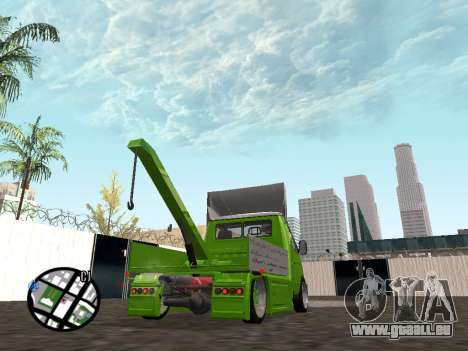 Gazelle Tow Truck für GTA San Andreas linke Ansicht