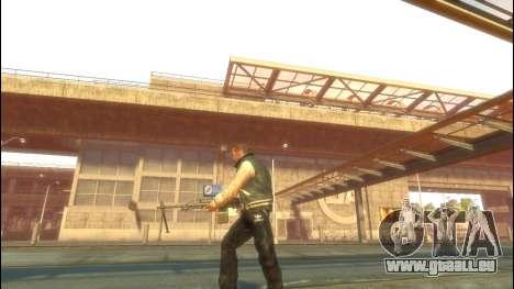PKP petchenègue mitrailleuse pour GTA 4 troisième écran