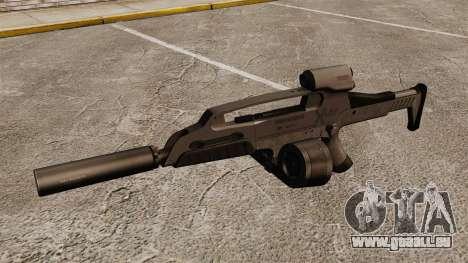HK XM8 assault rifle v2 pour GTA 4 troisième écran