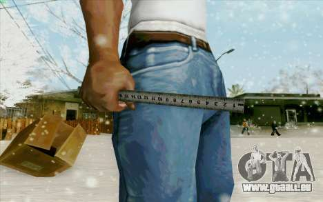 Règle en acier pour GTA San Andreas