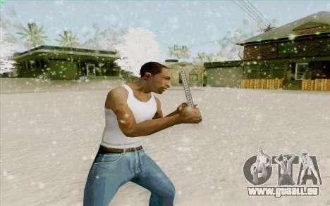 Règle en acier pour GTA San Andreas deuxième écran