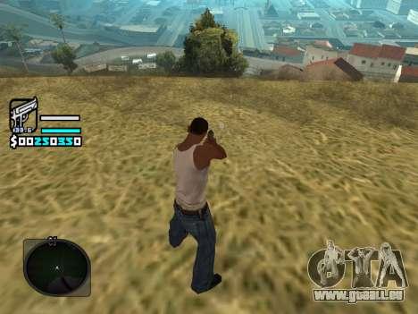 Hud by Larry pour GTA San Andreas troisième écran