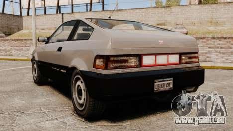 Blista nouveaux feux de marche arrière pour GTA 4
