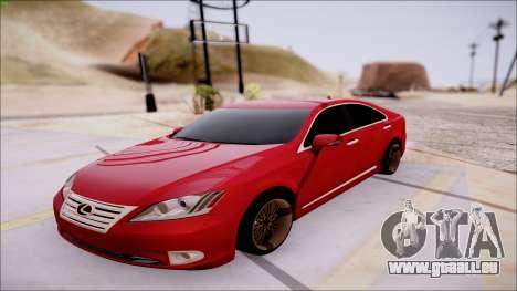 Lexus ES350 2010 für GTA San Andreas