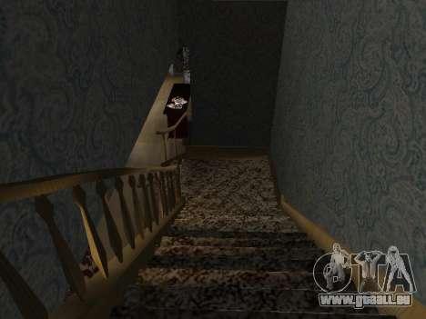 Innen 2-stöckige Neubau CJ für GTA San Andreas neunten Screenshot