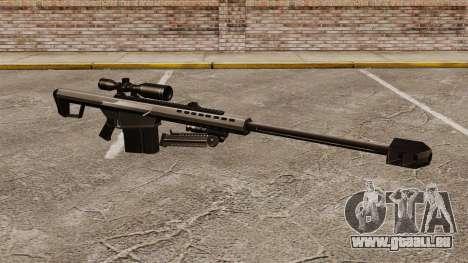 Das Barrett M82 Sniper Gewehr v1 für GTA 4