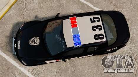 Mazda RX-8 R3 2011 Police für GTA 4 rechte Ansicht