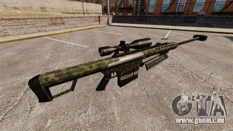 Die Barrett M82 Sniper Gewehr v7 für GTA 4 Sekunden Bildschirm