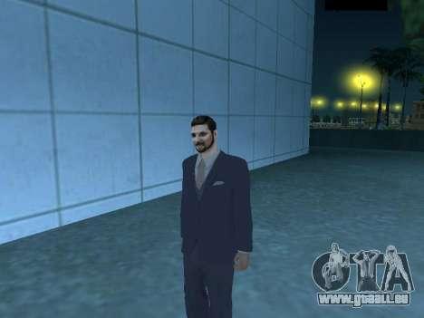 MafiaBoss HD pour GTA San Andreas deuxième écran