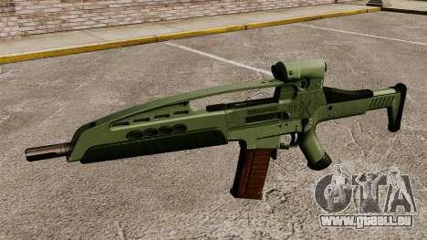 HK XM8 assault rifle v1 pour GTA 4 troisième écran