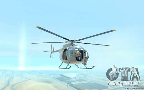 Buzzard Attack Chopper für GTA San Andreas