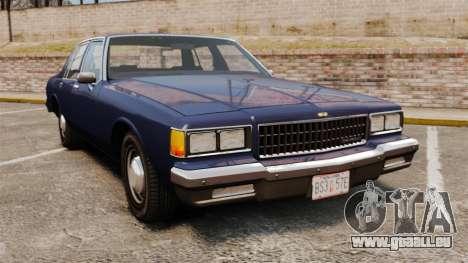 Chevrolet Caprice 1986 pour GTA 4