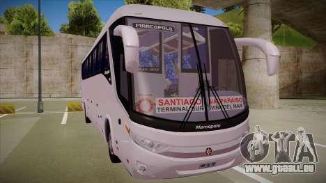 MARCOPOLO PARADISO G7 1200 4X2 M.BENZ O500RS pour GTA San Andreas laissé vue