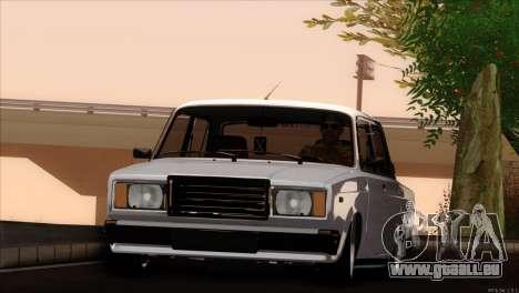 VAZ 2107 audio extrem für GTA San Andreas rechten Ansicht