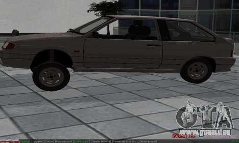 VAZ 2113 pour GTA San Andreas vue de dessus