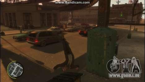V Style pour GTA 4 troisième écran