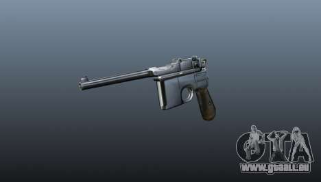 V1 Pistolet Mauser pour GTA 4