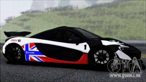 McLaren P1 2014 pour GTA San Andreas moteur