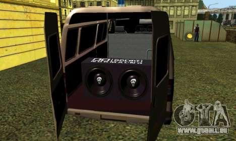 Gazelle Tuning für GTA San Andreas rechten Ansicht