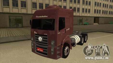 Volkswagen Constellation 25.370 Tractor für GTA San Andreas