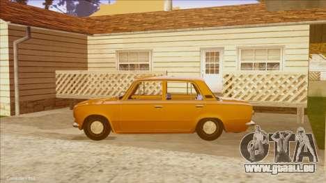 VAZ 21011 Drain für GTA San Andreas linke Ansicht
