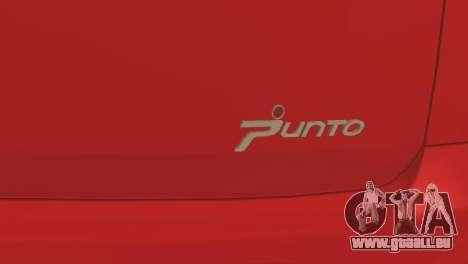 Fiat Grande Punto pour GTA San Andreas vue de côté
