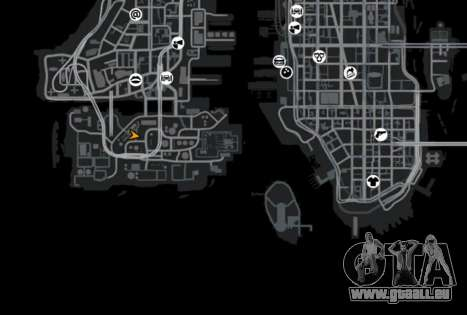 Une base défensive pour GTA 4 septième écran