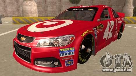 Chevrolet SS NASCAR No. 42 Clorox für GTA San Andreas