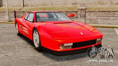 Ferrari Testarossa 1986 pour GTA 4