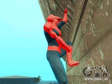 Klettern Sie Wände wie Spider-man für GTA San Andreas