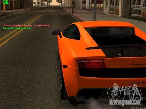 Lamborghini Gallardo LP560-4 SL UGR Altecho für GTA San Andreas rechten Ansicht