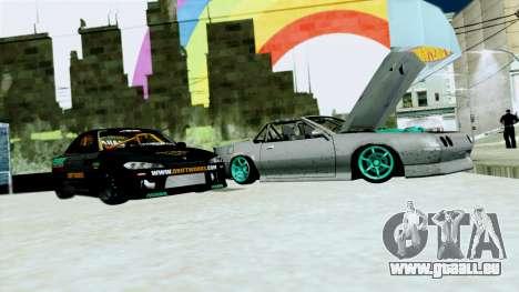 Buffalo Drift pour GTA San Andreas laissé vue