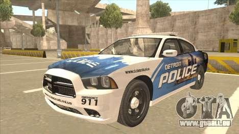 Dodge Charger Detroit Police 2013 pour GTA San Andreas