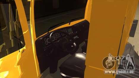 Volkswagen Constellation 13.180 pour GTA San Andreas vue intérieure