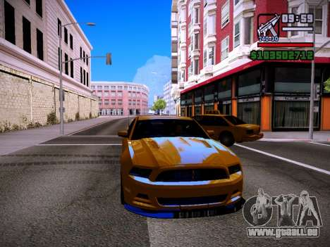 ENB by DjBeast for SA:MP Light Version pour GTA San Andreas troisième écran