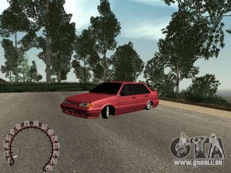 BPAN VAZ 2115 pour GTA San Andreas