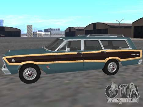 Ford Country Squire 1966 für GTA San Andreas linke Ansicht