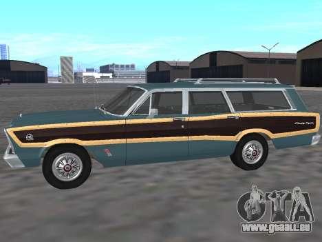Ford Country Squire 1966 pour GTA San Andreas laissé vue
