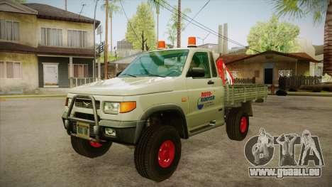 Eau réparation d'UAZ 2360 SA pour GTA San Andreas