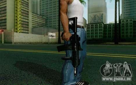 MK107 PDW für GTA San Andreas dritten Screenshot