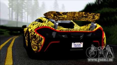 McLaren P1 2014 pour GTA San Andreas